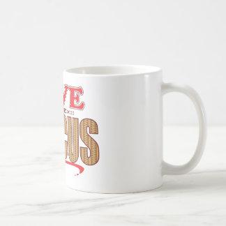 円盤投げの保存 コーヒーマグカップ