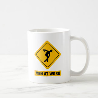 円盤投げの投げること コーヒーマグカップ
