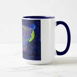 円盤投げの歓喜 マグカップ