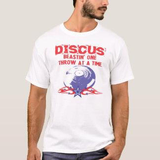 円盤投げのTシャツ Tシャツ
