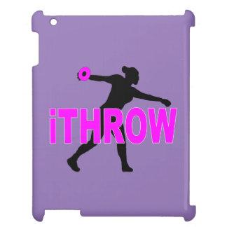 円盤投げ選手のipadの場合 iPad カバー