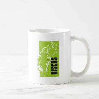 円盤投げ コーヒーマグカップ
