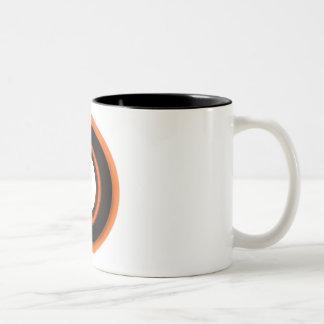 円盤投げ ツートーンマグカップ