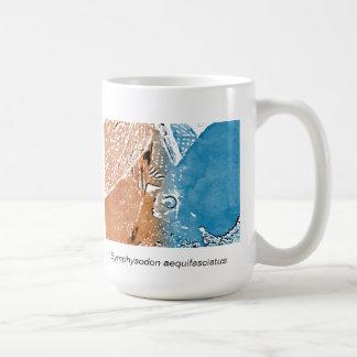 円盤投げ(Symphysodonのaequifasciatus)のマグ コーヒーマグカップ