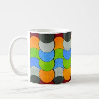 円織り目加工Shirleyテイラー著積み重ねられる コーヒーマグカップ