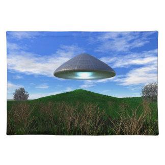 円錐形UFO ランチョンマット