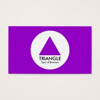 円-三角形-紫色 名刺