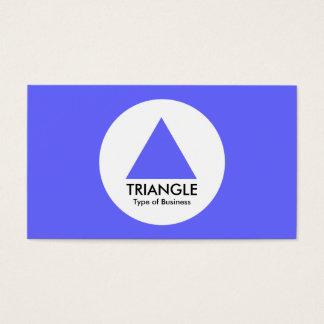 円-三角形-電気青 名刺