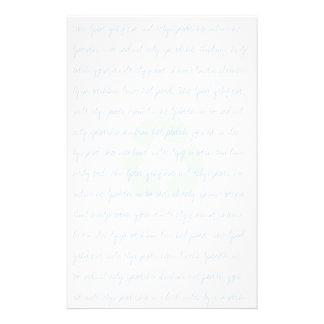 再使用されたリサイクルされた文房具 便箋