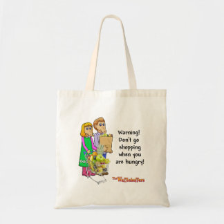 再使用可能な買い物袋のカスタム- Wafflehoffers トートバッグ