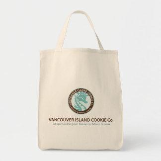 再使用可能な買い物袋-クラシックなロゴ トートバッグ