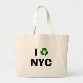 再使用可能な買い物袋 ラージトートバッグ