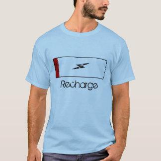 再充電 Tシャツ