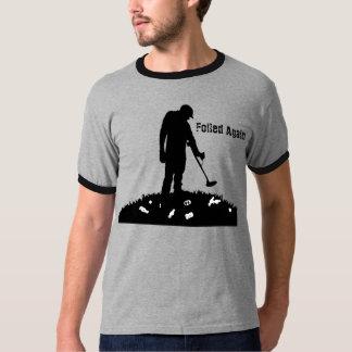-再度失敗- Tシャツを検出する金属 Tシャツ