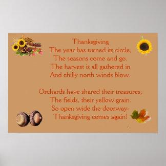 再度感謝祭の時間 ポスター