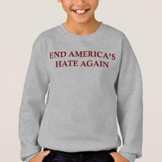 再度端アメリカの憎悪 スウェットシャツ