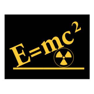再度E=mc2 ポストカード