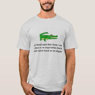 再来のわに Tシャツ
