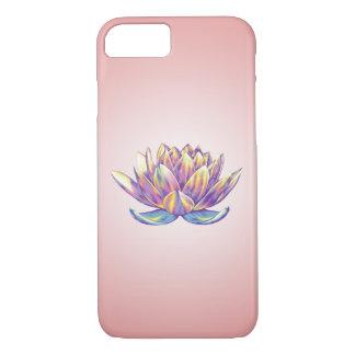 再生のはすiPhoneの場合のピンク iPhone 8/7ケース