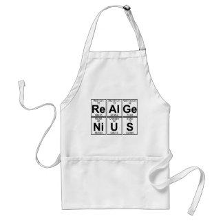 再Al GE NI U S (実質の天才) -十分に スタンダードエプロン