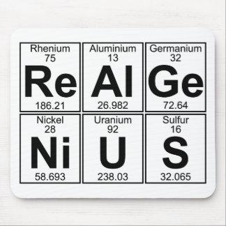再Al GE NI U S (実質の天才) -十分に マウスパッド