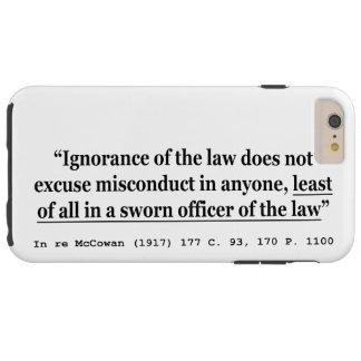 再McCowan (1917年) 177 C 93 170 P 1100の事例法律 Tough iPhone 6 Plus ケース