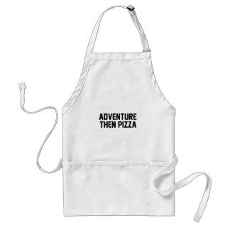 冒険そしてピザ スタンダードエプロン