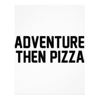 冒険そしてピザ レターヘッド
