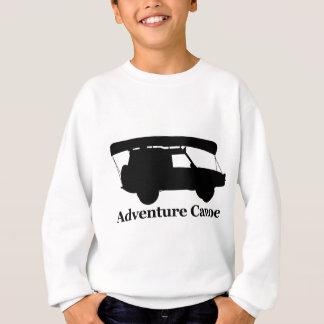 冒険のカヌー スウェットシャツ