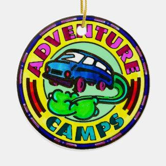 冒険のキャンプのオーナメント セラミックオーナメント