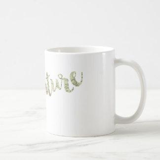 冒険のタイポグラフィのマグ11oz コーヒーマグカップ