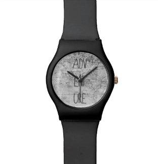 冒険の地図 腕時計