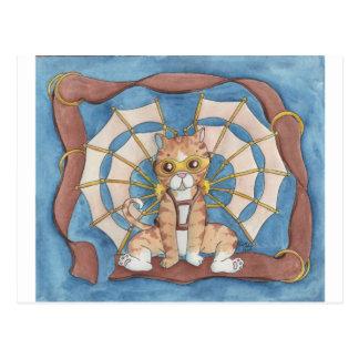 冒険の子猫 ポストカード