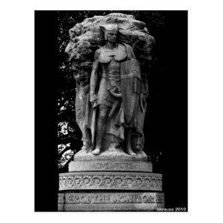 冒険の彫像、Washington D.C. ポストカード
