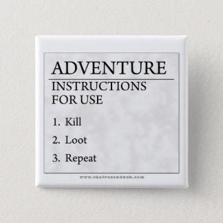 冒険の指示 缶バッジ