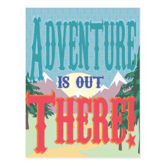 冒険はそこにあります! 郵便はがき 葉書き