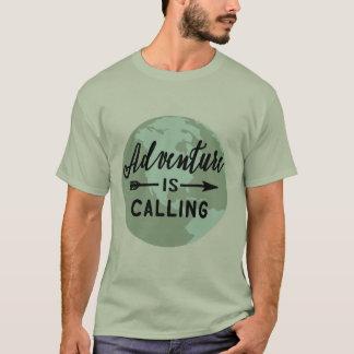 冒険は呼んでいます Tシャツ