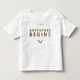 冒険は始まります トドラーTシャツ