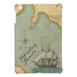 冒険は旧式な地図を待ちます iPad MINI カバー