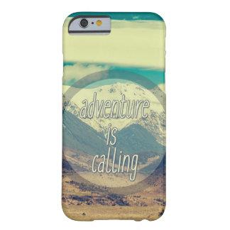 冒険は電話箱を呼んでいます BARELY THERE iPhone 6 ケース