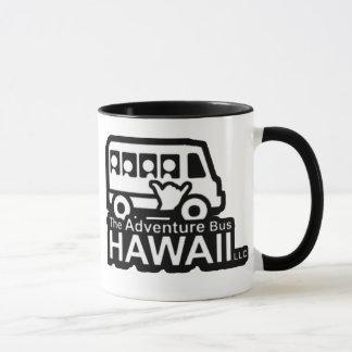 冒険バスハワイのマグ マグカップ