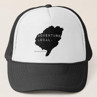 「冒険ローカル」のトラック運転手の帽子 キャップ