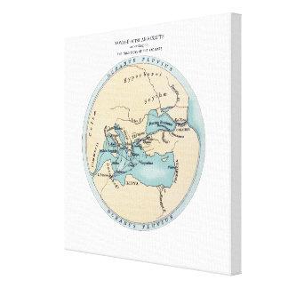 冒険家の旅行 キャンバスプリント