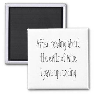 冗談のワインの引用文のギフトのおもしろいな冷蔵庫のノベルティの磁石 マグネット