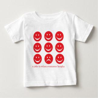 冗談は皆が笑うときです ベビーTシャツ