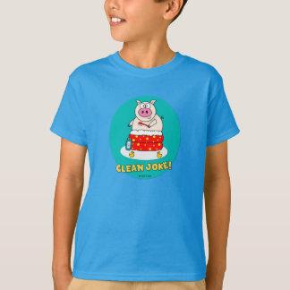 冗談をきれいにして下さい Tシャツ