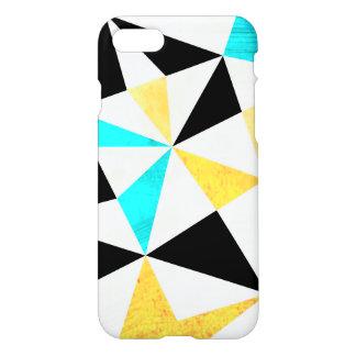 写実的で汚い三角形のデザイン iPhone 8/7 ケース