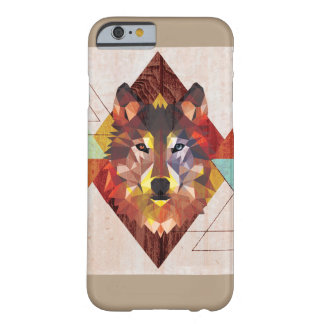 写実的なオオカミ BARELY THERE iPhone 6 ケース