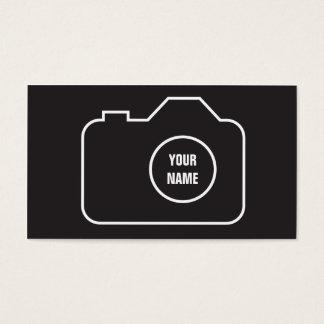 写実的なカメラマン の写真撮影の名刺 名刺
