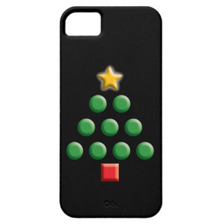 写実的なクリスマスツリー iPhone SE/5/5s ケース